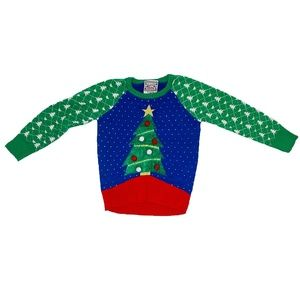 Well Worn, Shirts & Tops, Christmas Tree Sweater